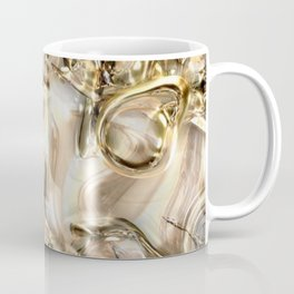 GOLD SWIRLS Coffee Mug