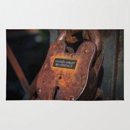 Rusty Lock Rug