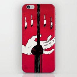 sanguine iPhone Skin
