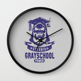 The GraySchool Power II Wall Clock