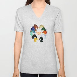 Wings of Fire All Together Unisex V-Neck