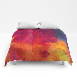 Colorful Thoughts 01 Comforters