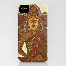 Sitting Buddha iPhone (4, 4s) Slim Case