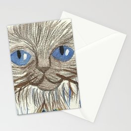 Triple Moon Cat Goddess Stationery Cards