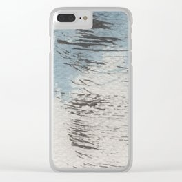 Drybrush Clear iPhone Case