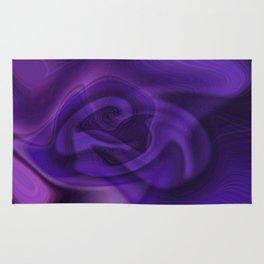 Purple daze 11 Rug