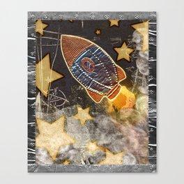 Blast Off Canvas Print