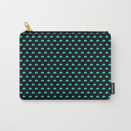 Blue Cherries Carry-All Pouch