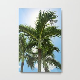 Sunshine State of Mind- vertical Metal Print