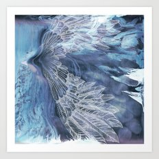 on wings Art Print