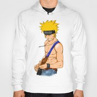 naruto Hoodies featuring naruto by immiggyboi90
