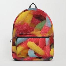 Sour Gummy Worms Backpack