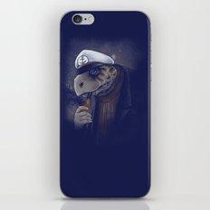 Turtlenecked Sea Captain iPhone & iPod Skin