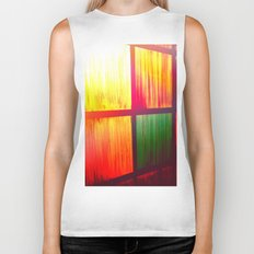 Stain Glass Biker Tank