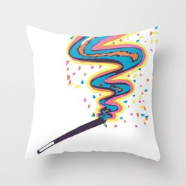 Joint Art Throw Pillow