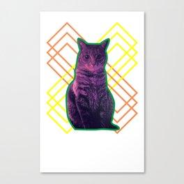 Momo the Cat Canvas Print