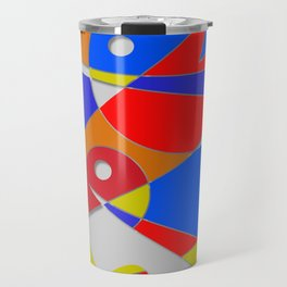 Abstract #89 Travel Mug