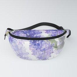 Purple Wisteria Flowers Fanny Pack