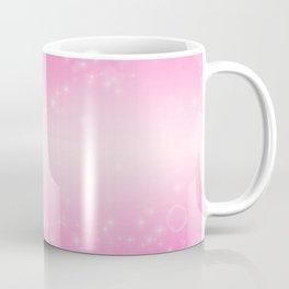 Magic deep pink heart patterned Coffee Mug
