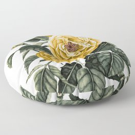 Yellow Roses Floor Pillow