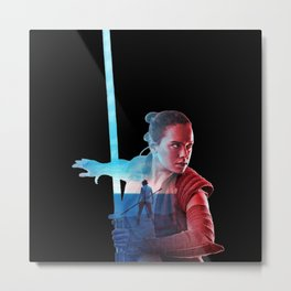 Rey: I need someone to show me my place in all this Metal Print