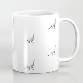 Diplodocus pattern. Coffee Mug