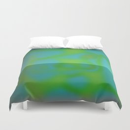 Yellow Color Leak Duvet Cover