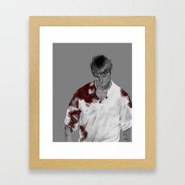 Blood - Arthur Framed Art Print