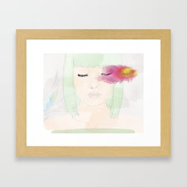 Watery Eyes Framed Art Print