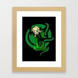 Green Lloyd Framed Art Print