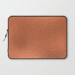 Simply Metallic in Deep Copper Laptop Sleeve