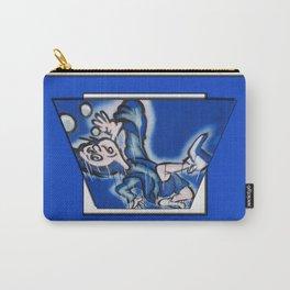 blue boy runnin' Carry-All Pouch