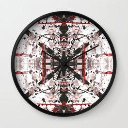 Klebekleckse Wall Clock