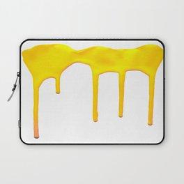 Yellow Splatter Laptop Sleeve