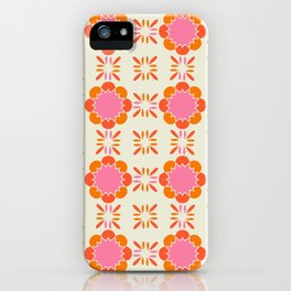 Sixties Tile iPhone Case