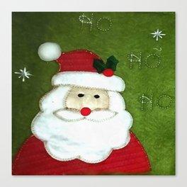 Ho Ho Ho Father Christmas Canvas Print