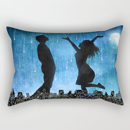 The night is ours Rectangular Pillow