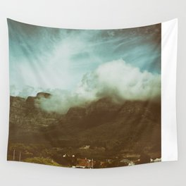 Over the Mountain Wall Tapestry