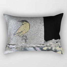Barbed Bird Rectangular Pillow