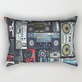 boomboxs Rectangular Pillow