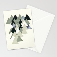 French Alps at Dusk Stationery Cards