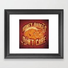 #HBDC Framed Art Print