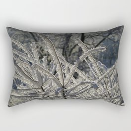 Ice Crystals Rectangular Pillow