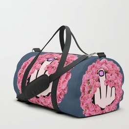 The Glamorous Middle Finger Duffle Bag