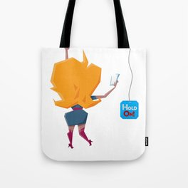 Selfie Girl Tote Bag