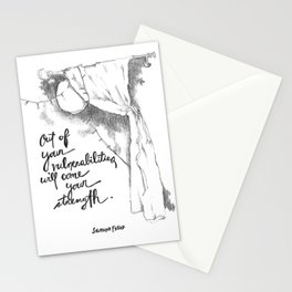 Out of Your Vulnerabilities Stationery Cards