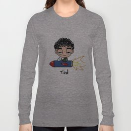Tod in Rocket Long Sleeve T-shirt