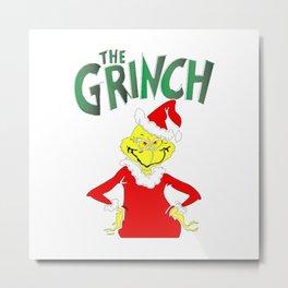 The Grinch Metal Print