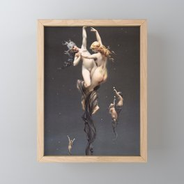 "Luis Ricardo Falero ""Double stars"" Framed Mini Art Print"