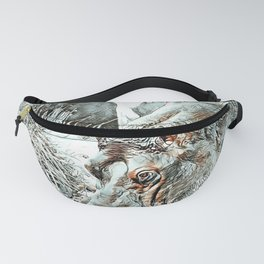 NewArt Animal Hippo Fanny Pack